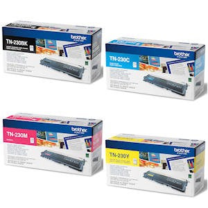 Brother TN-230 B/C/M/Y Value Set TN230