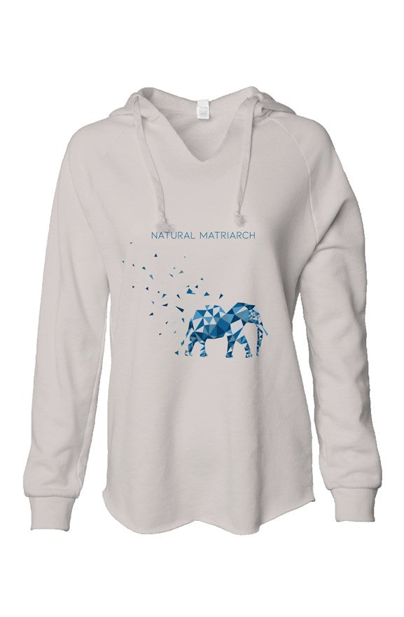 elephant_lightweight wash hooded sweatshirt