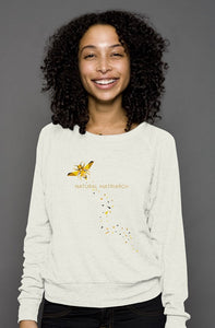 bee_raglan sweater