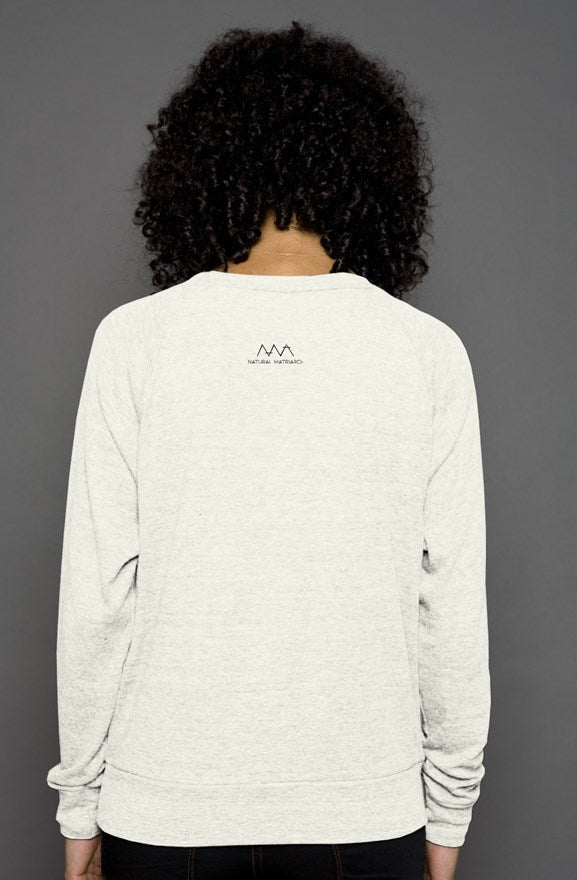 AFRO - raglan sweater