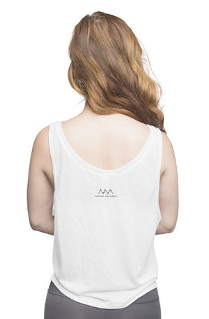 STRAIGHT HAIR - flowy boxy tank