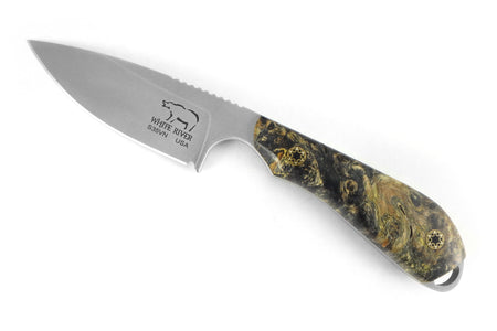 Custom M1 Caper - Maple Burl Handle (1)