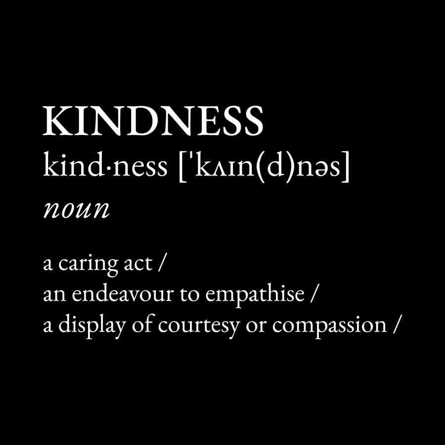 Definition: Kindness