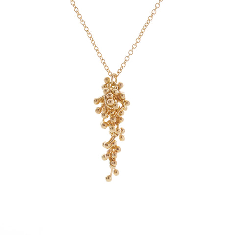 Fine 9ct Gold Drop Necklace