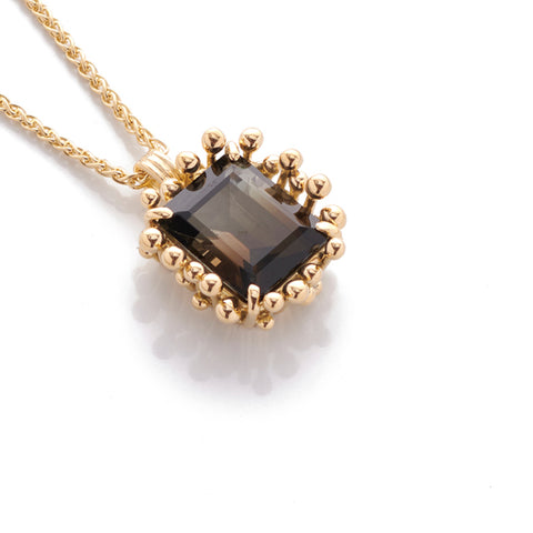 Brown Tourmaline Pendant