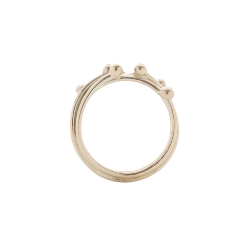Entwine Gold and Diamond Ring