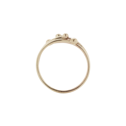 Yellow Gold Diamond Band Ring