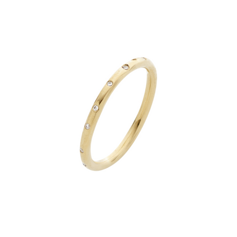 Entwine Gold Eternity Band