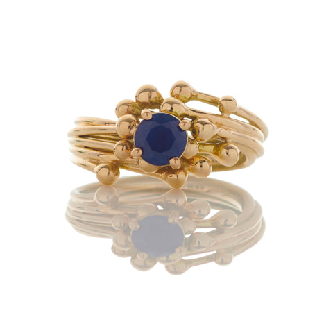 Sapphire Entwine Ring