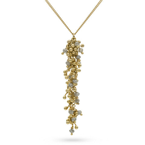 Enchantment Diamond Drop Necklace