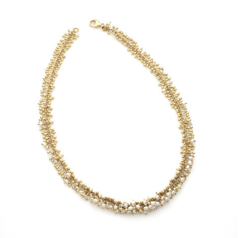 Enchantment Pearl Scatter Necklace