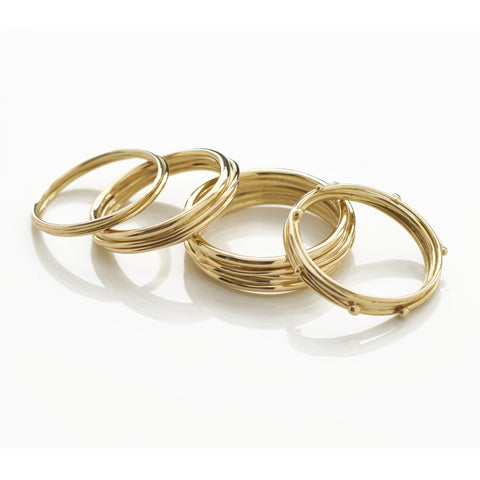 Yellow Gold Band Ring