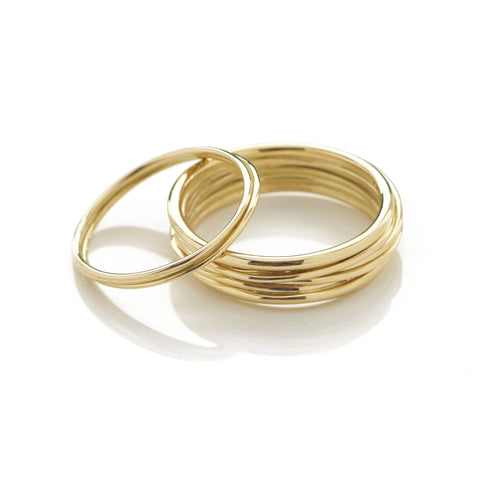 Entwine Slim Band Ring