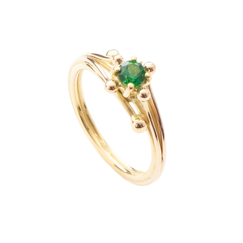 Entwine Chrome Tourmaline Ring