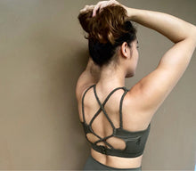 Load image into Gallery viewer, Tropic Halter Sports Bra