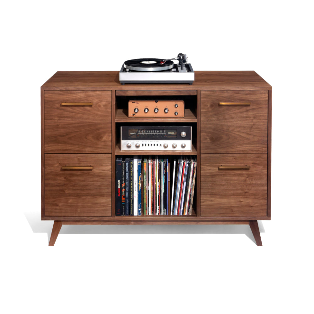 Open/Close Record Cabinets