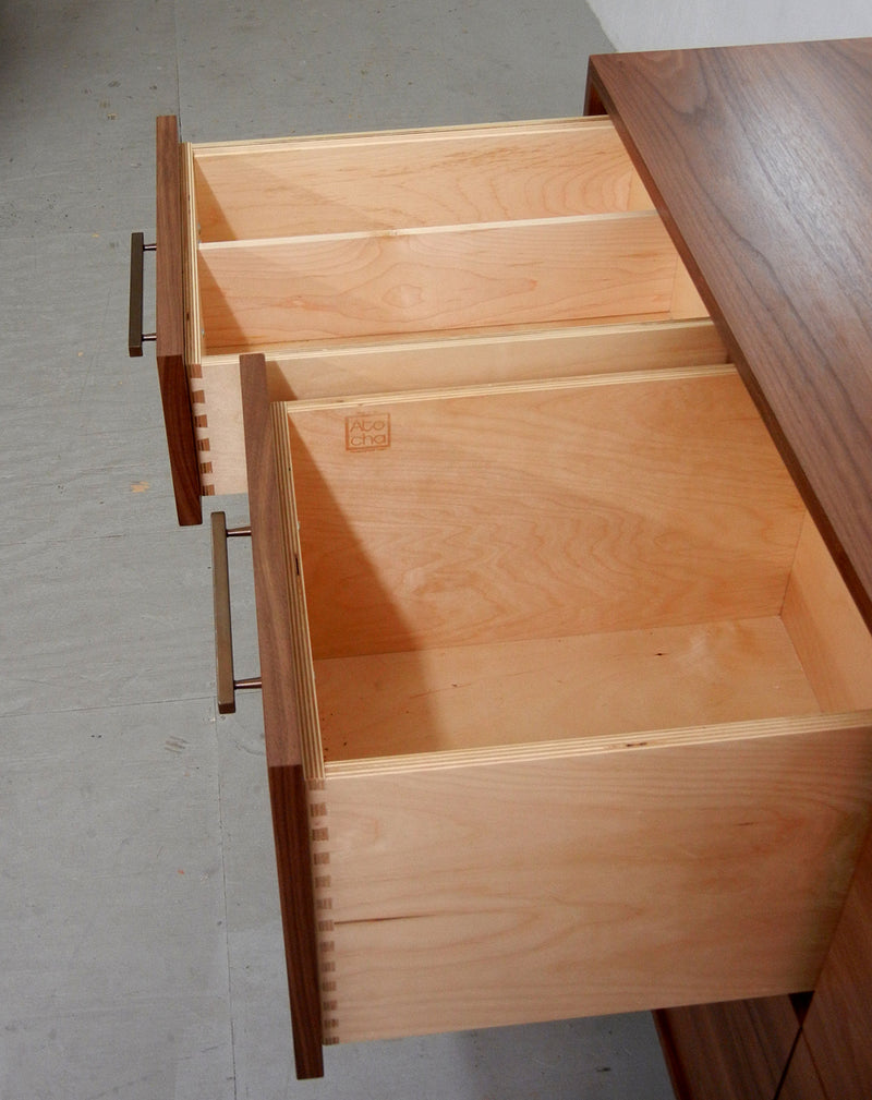 Open/Close 6 LP 2 CD Drawer Record Cabinet (Large)