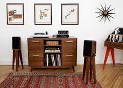 Make your listening stylish with Atocha Design.