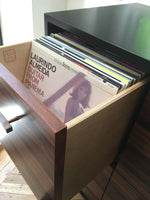 Record Cabinet 6 LP + 3 Singles Drawer (Large)