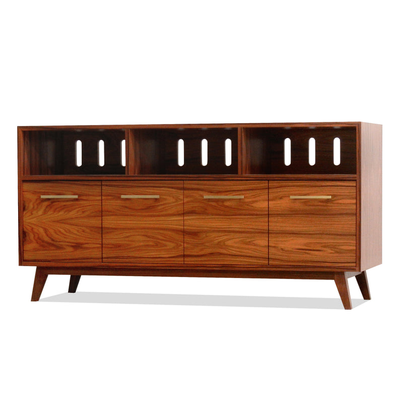 Open/Close 4 LP Record Cabinet Wide (Large)