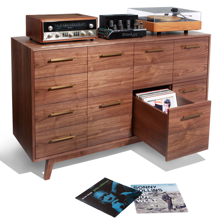 The Record Cabinet For Vinyl Records Atocha Design