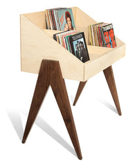 Atocha Design Record Stand holds up to 300 LPs.