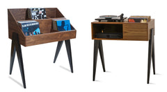 The Pair-Atocha Design Record Stand w/ Turntable Stand