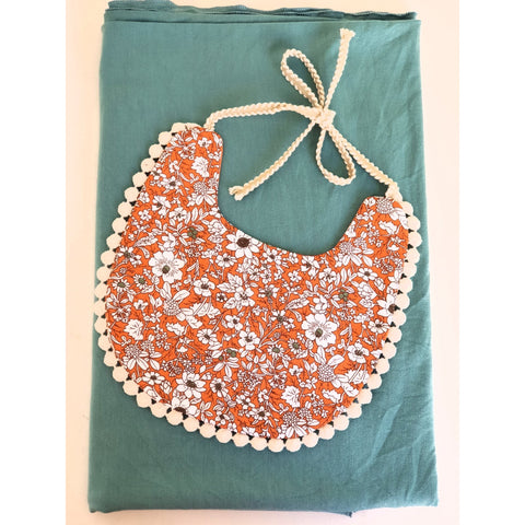 Clementine Heirloom Bib