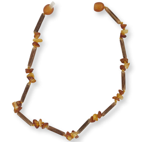 HAZLEWOOD RAW OMBRE HONEY NECKLACE