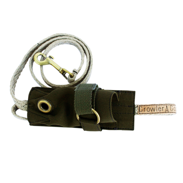 Growler Goods Orpine Dog Leash with Holster