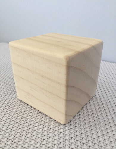 Individual Hand Made Giant Cube Block