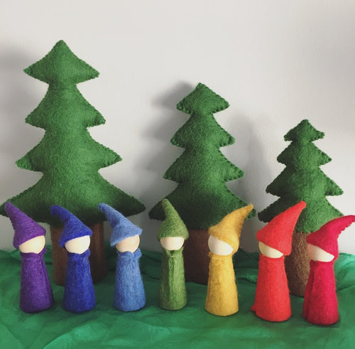 Papoose Rainbow Gnomes (Choice of Colour)