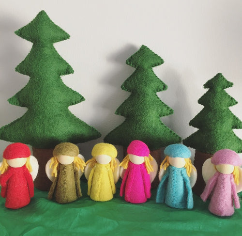 Papoose Bright Elves - Individual Elves (Choice of Colour)
