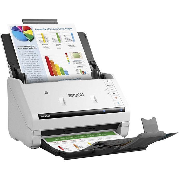 Epson WorkForce DS-575W II Document Scanner with WiFi