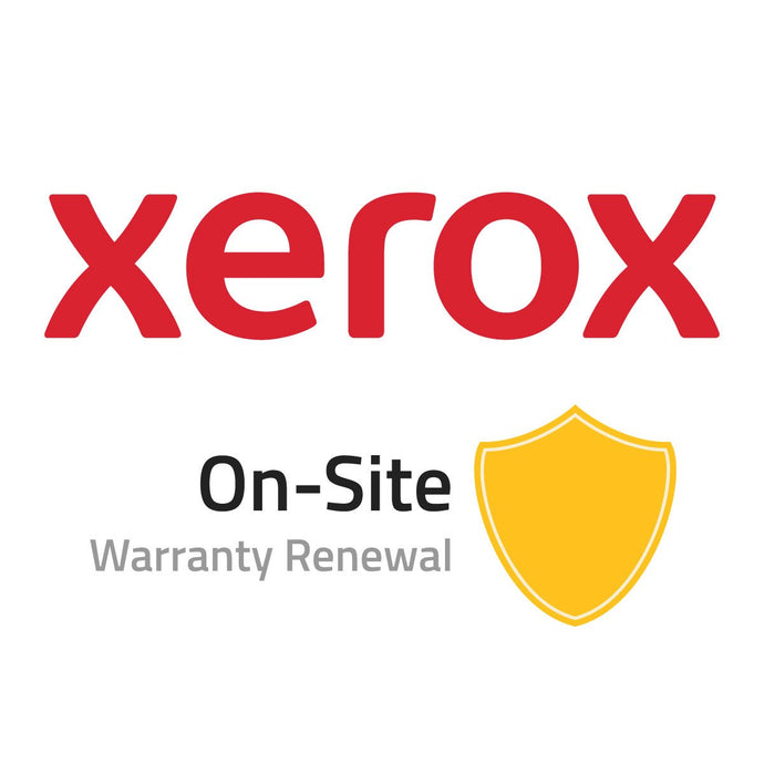 Xerox On-Site Warranty Renewal