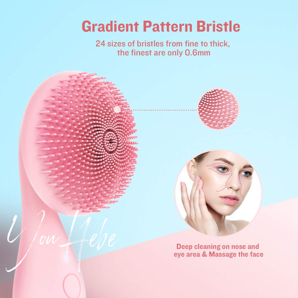 YouHebe Passion Flower cleansing brush