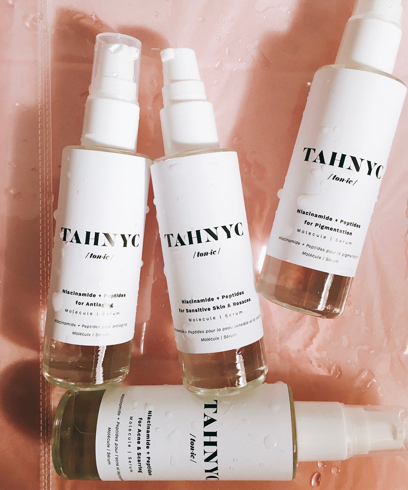 Niacinamide + Peptides for Sensitive Skin