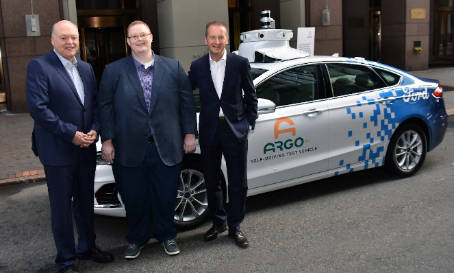 Ford and Volkswagen Partner for Electric/Autonomous Vehicle Development