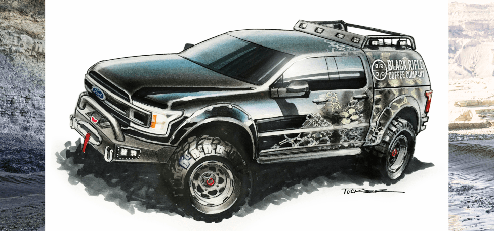 J Robert Marketing and Attitude Performance Ford F-150 XLT SuperCrew FX4