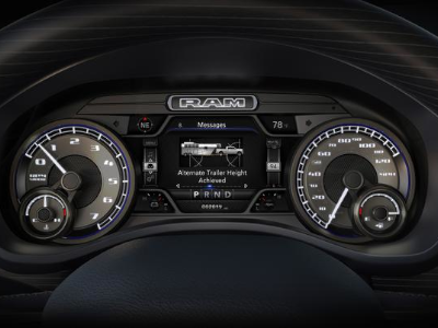 2019 Ram 2500 and 3500 Instrument Cluster