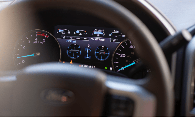 2020 Ford Super Duty Digital Speedometer