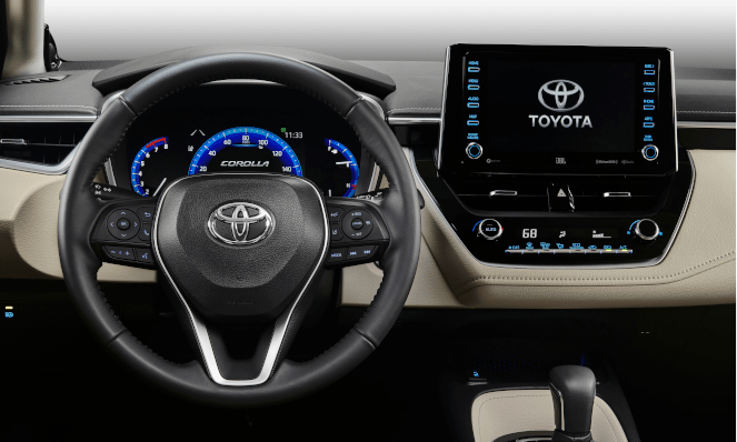 2020 Tacoma Interior---Predicting the Future Based Upon the 2020 Corolla