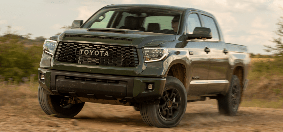 2020 Toyota Tundra TRD Sport in Army Green