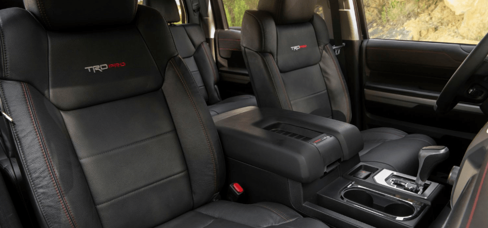 2020 Toyota Tundra TRD Sport Front Passenger Cabin