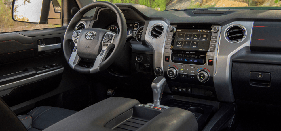 2020 Toyota Tundra TRD Sport Driver's Console