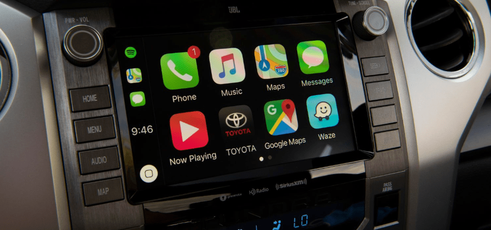 2020 Toyota Tundra Apple CarPlay & Android Auto Compatible Audio System