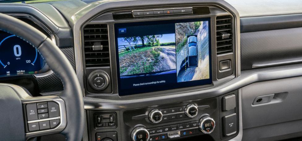2021 Ford F-150 12-inch Infotainment Screen