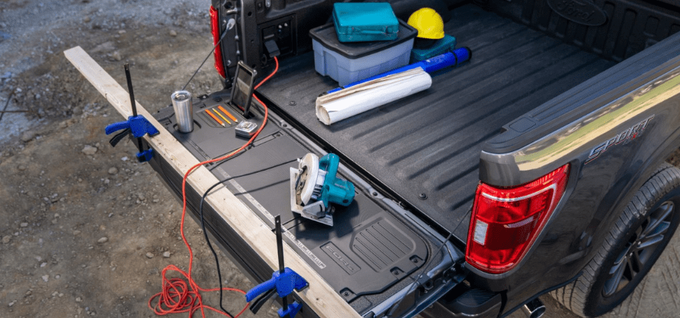 2021 Ford F-150 Workbench Tailgate