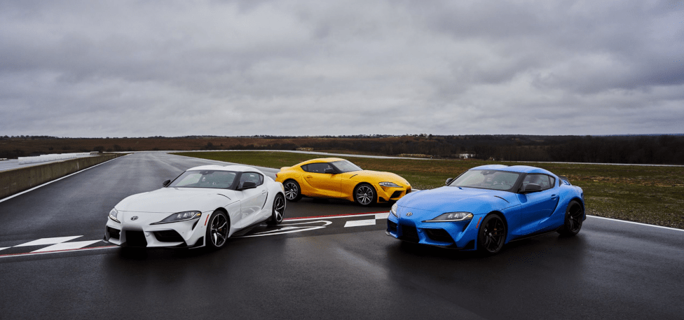 2021 Toyota GR Supra 2.0 3.0 and GT4 Models