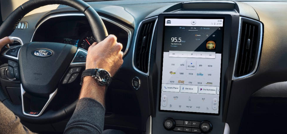 2021 Ford Edge 12-inch Touchscreen